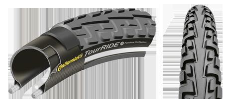 Opona rowerowa Continental Tour Ride reflex 28x1.40 37 622 700x35C